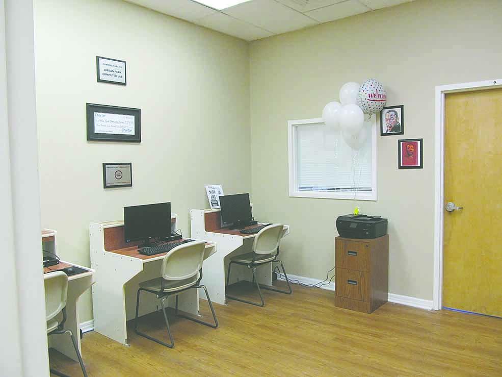 Jordan Park Computer Lab