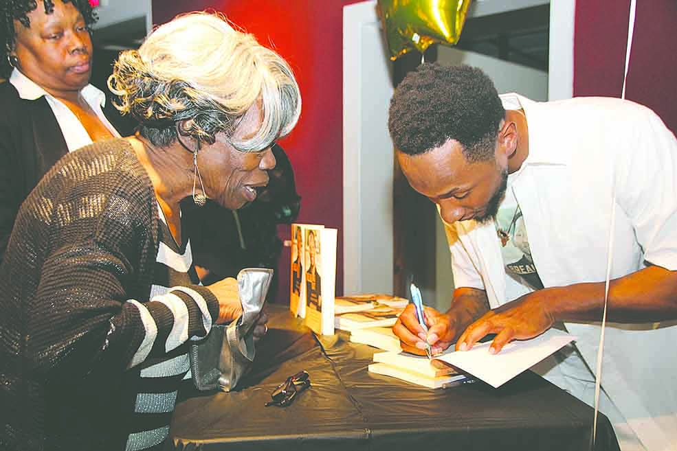 Book Signing, Breaking Out, featured