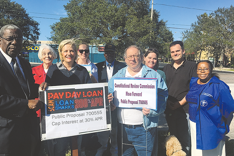 Faith community joins together for Prayer Walk to advocate for predatory lending protections