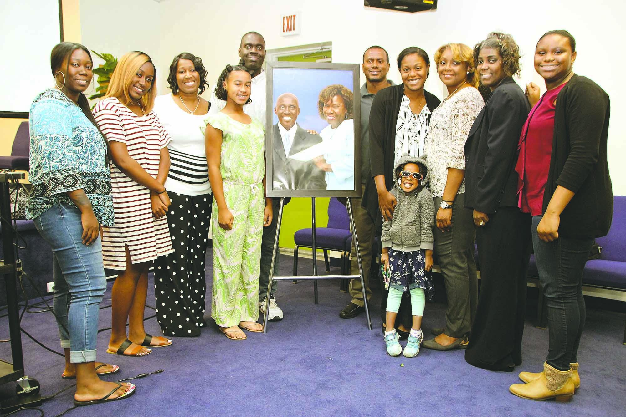Rev. Claude S. Williams Friends Family, featured