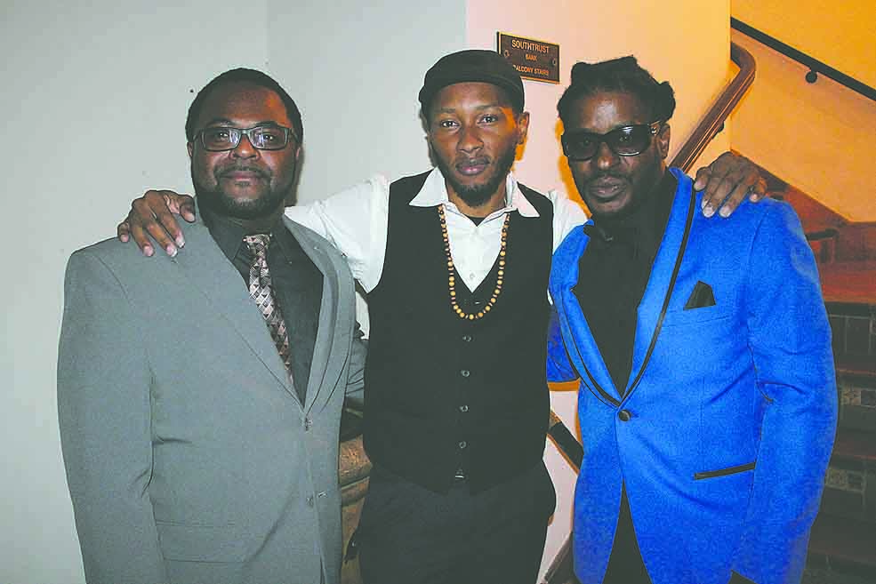 L-R, Bro. John Muhammad, Marques Clark and Jabaar Edmond