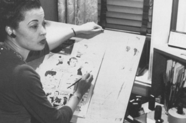 Jackie Ormes: The first professional African American woman cartoonist