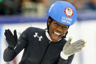 Biney Becomes 1st Black Woman To Make U.S. Olympic Speedskating Team