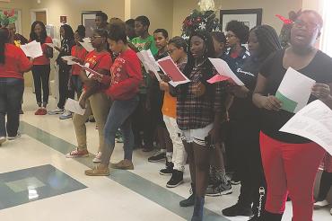 SPC Community of Care: Holiday caroling for St. Pete residences