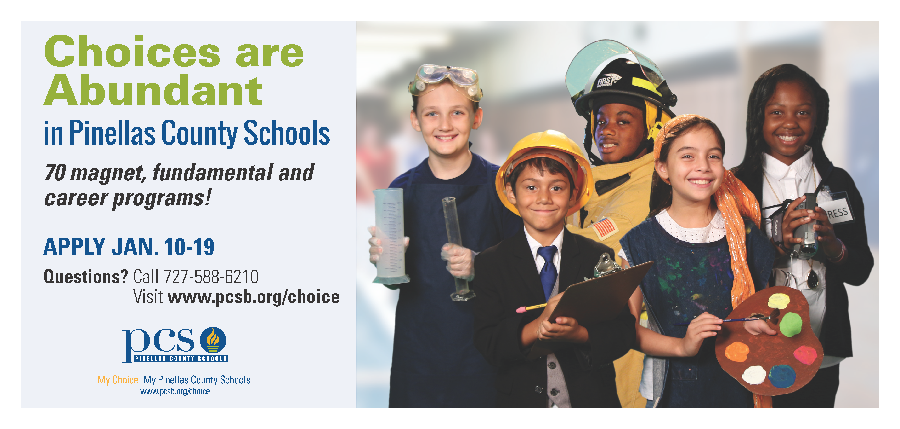 Pinellas County School Choice Program Applications, featured, education