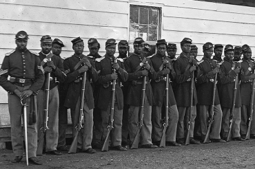 18 black Civil War veterans who founded a tiny village where African Americans flourished despite Jim Crow laws, continues today