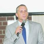 Gibbs Athletic Director Michael Machado
