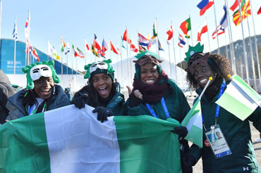 Nigerian women's bobsleigh team admit they're 'terrified' as they make history, become Winter Olympic's unlikeliest stars