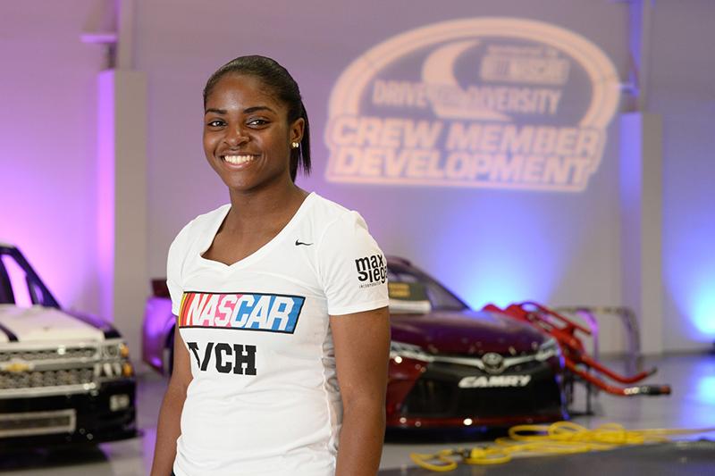 Meet NASCAR's First Black Woman Pit Crew Member