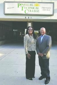 Faye Watson and Rohland Bryant