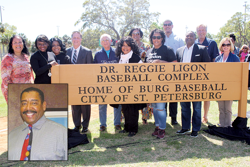 Baseball complex renamed in honor of Dr. Reginald Ligon