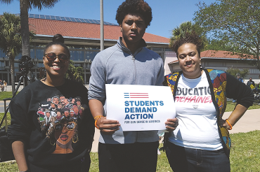 Dream Defenders support students in 'March for Our Lives'