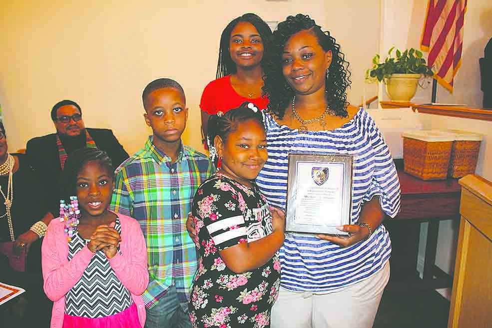 The family of the late Adele Jemison