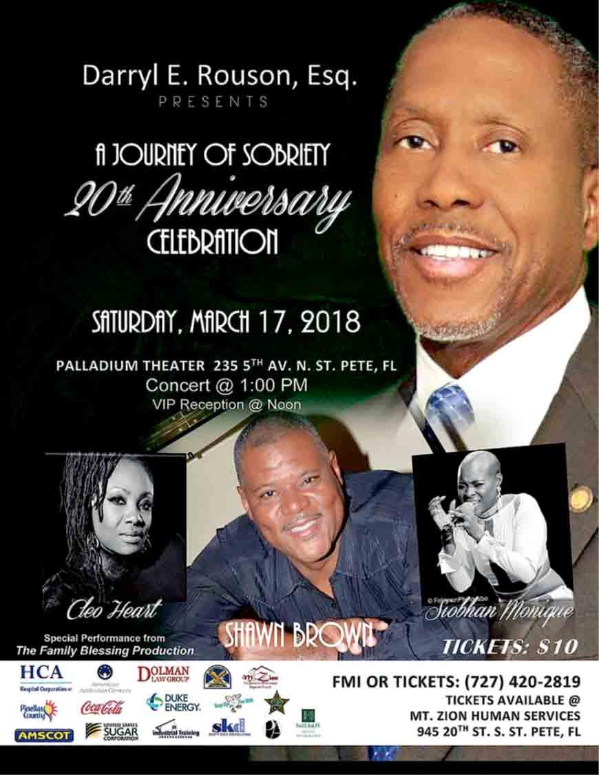 Rouson Sobriety Celebration Event