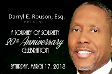 Senator Darryl Rouson hosts concert celebration recognizing 20 years of sobriety