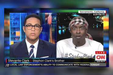 'Say his name!' Grief-stricken brother of Stephon Clark clashes with Don Lemon during uncomfortable interview about his unarmed sibling's death