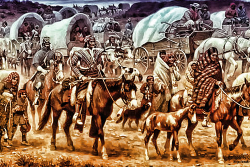 Trail of Tears, history