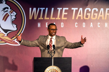 Fun bunch: Taggart's first FSU practice sets different tone