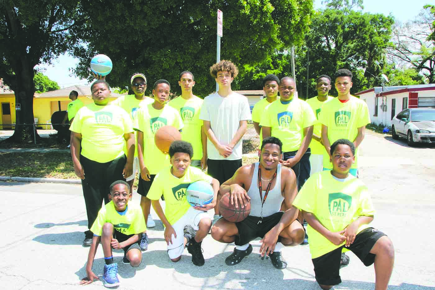 Cops and Basketball: A slam dunk in south St  Pete –