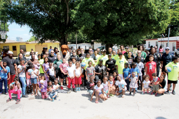 Cops and Basketball: A slam dunk in south St. Pete