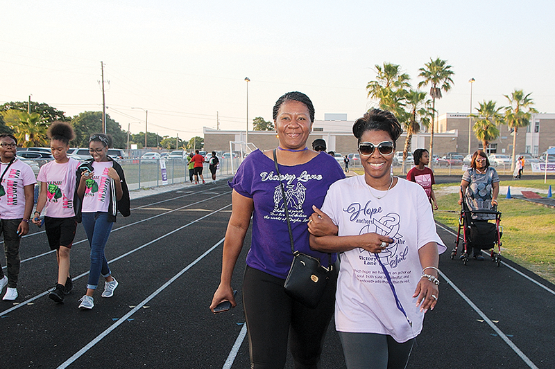 Relay 4 Life makes tracks to fight cancer