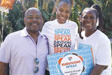 Crime survivors speak