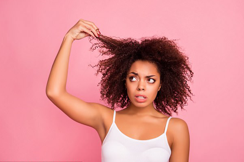 Black Women Hair Health