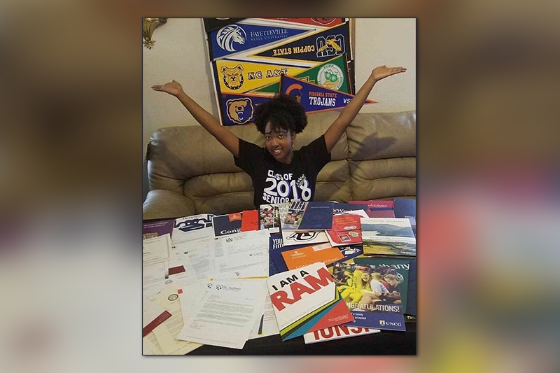 Talented teen is accepted into 113 colleges and awarded $4.5million in merit scholarships