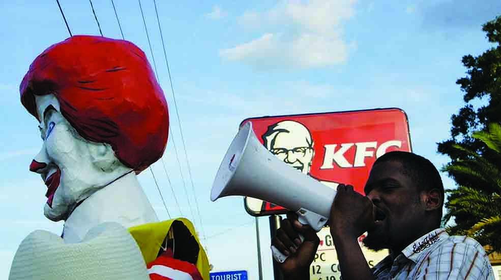 Kofi Hunt Fast Food Workers