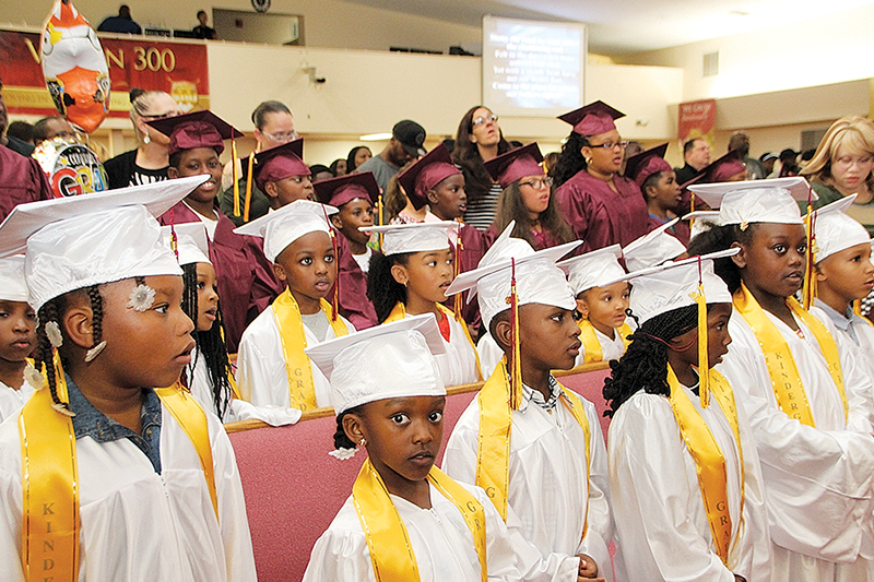 Mt. Zion Progressive 2018 graduate ceremony
