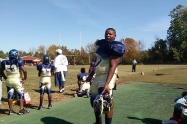 The NFL's next BIG star? Middle school student offered scholarships to five different colleges