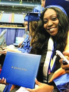 T'Nora Dessaw, graduation
