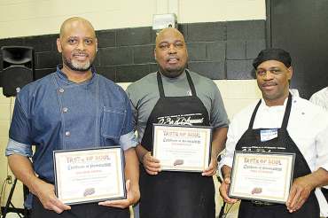Professional chef takes top spot in annual competition