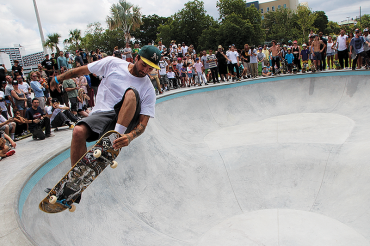 Campbell Park is the new home for skateboard enthusiasts