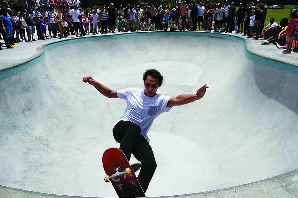 Skate Park, Campbell Park Skate