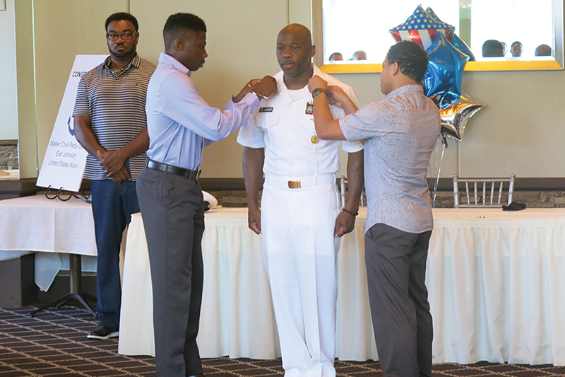 St. Pete's Finest: Master Chief Petty Officer Earl Johnson