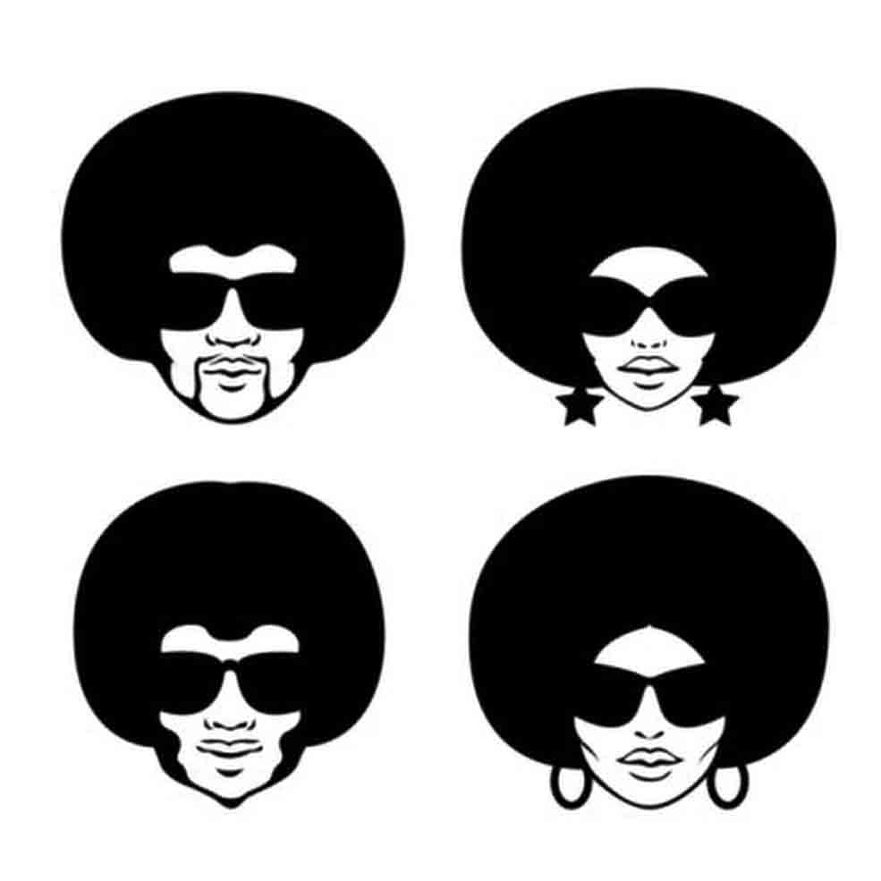 He Say She Say Afros