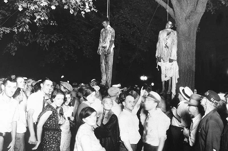Silenced voices:  From lynchings of the past to mass incarcerations of toda