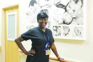Midwife Jayda Taylor-Herring