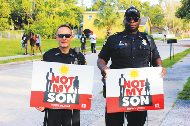 Not My Son campaign continues to raise awareness