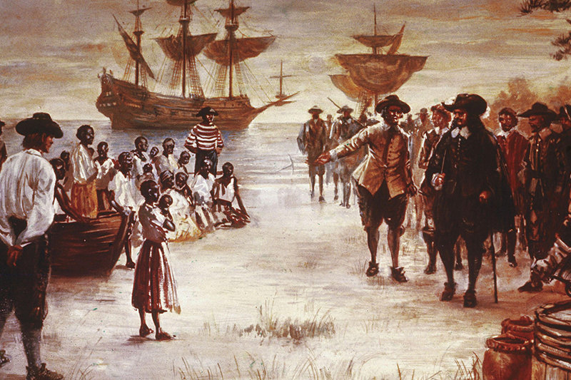 Slavery in Virginia during the colonial period