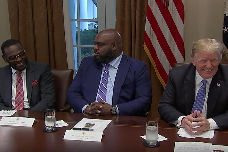 Black Preachers Trump, black culture