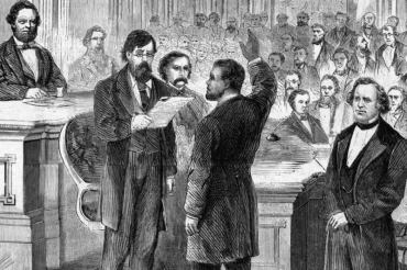 The First Black Man Elected to Congress Was Nearly Blocked From Taking His Seat