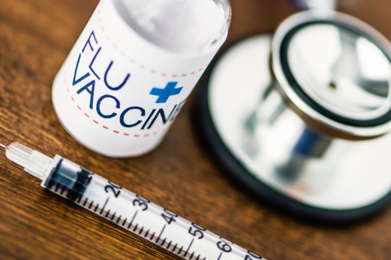 The flu vaccine