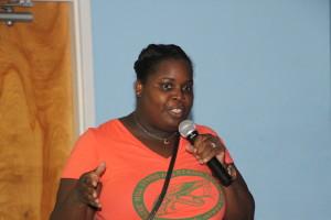 Tamika Hughes-Leeks, chapter president