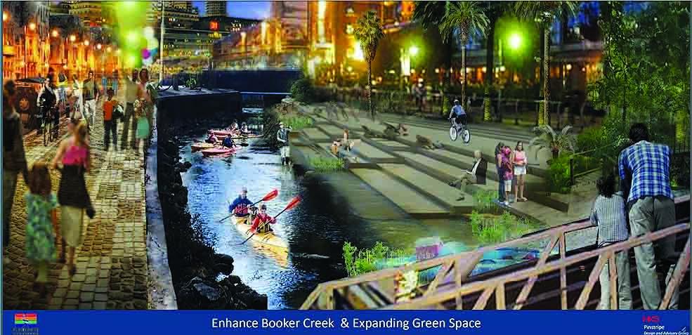 Ehanced Booker Creek design by HKS