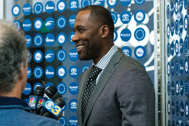 New 76ers GM Elton Brand won't yield control, but will collaborate