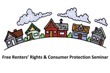 Free seminar on landlord-tenant rights and consumer protection