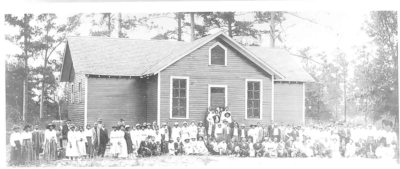 A Rosenwald School in Alabama, circa 1920