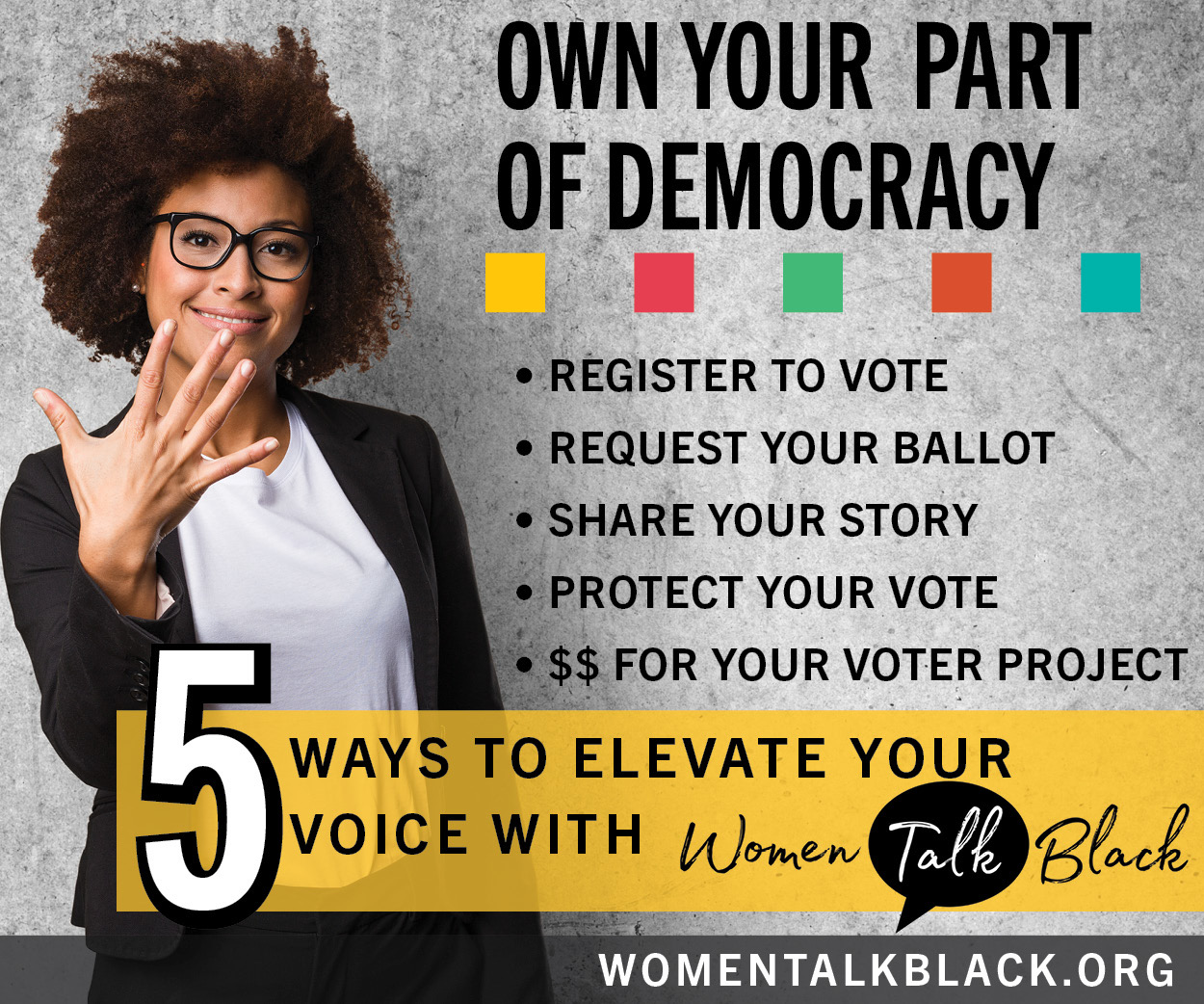 5 Ways to Elevate Your Voice with Women Talk Black